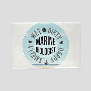 Marine Biologist Rectangle Magnet