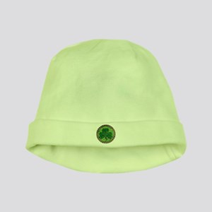 Shamrock And Celtic Knots baby hat