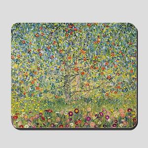 Apple Tree Klimt Mousepad