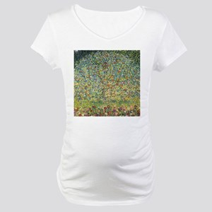 Apple Tree Klimt Maternity T-Shirt