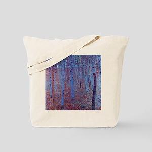 beech forest klimt Tote Bag
