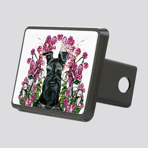 Black Schnauzer Hitch Cover