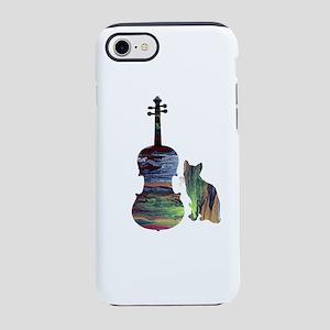 Cat Viola Art iPhone 7 Tough Case