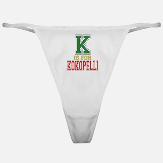 K is for Kokopelli Classic Thong