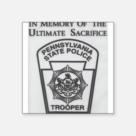 Helping Pennsylvania State Police Sticker