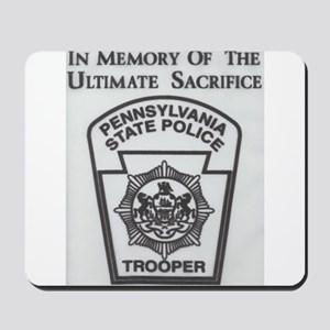 Helping Pennsylvania State Police Mousepad