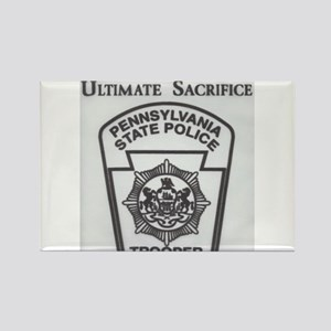 Helping Pennsylvania State Police Rectangle Magnet