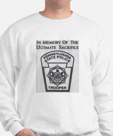 Helping Pennsylvania State Police Sweatshirt