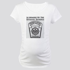 Helping Pennsylvania State Police Maternity T-Shir