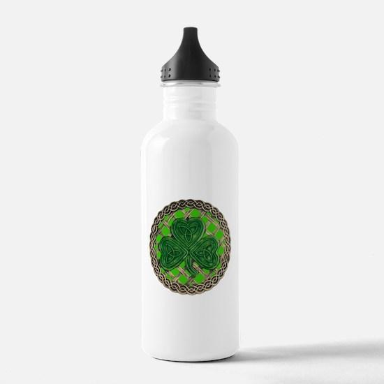 Shamrock And Celtic Knots Water Bottle