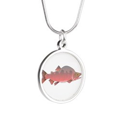 Pink Humpy Male salmon f Necklaces