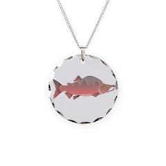 Pink Humpy Male salmon f Necklace