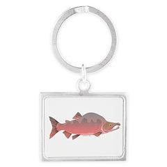 Pink Humpy Male salmon f Keychains