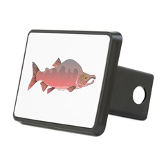 Pink Humpy Male salmon f Hitch Cover