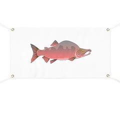 Pink Humpy Male salmon f Banner