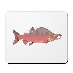 Pink Humpy Male salmon f Mousepad
