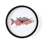 Pink Humpy Male salmon f Wall Clock