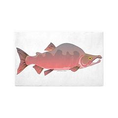 Pink Humpy Male salmon f 3'x5' Area Rug