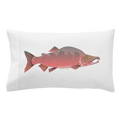 Pink Humpy Male salmon f Pillow Case