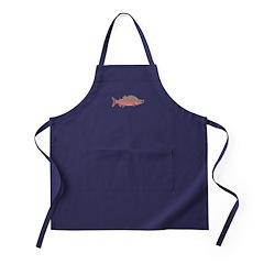 Pink Humpy Male salmon f Apron (dark)