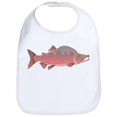 Pink male Salmon c Bib