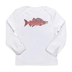 Pink male Salmon c Long Sleeve T-Shirt