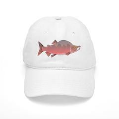 Pink male Salmon c Baseball Baseball Cap