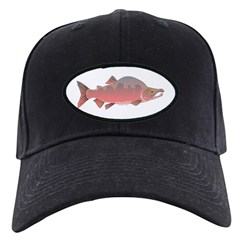 Pink male Salmon c Baseball Hat
