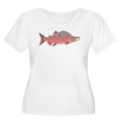 Pink male Salmon c Plus Size T-Shirt