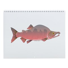 Salmon, trout, and char Wall Calendar