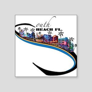 south beach Sticker