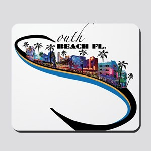south beach Mousepad