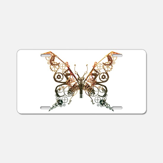 Industrial Butterfly (Copper) Aluminum License Pla