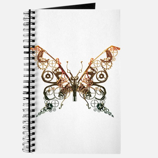 Industrial Butterfly (Copper) Journal