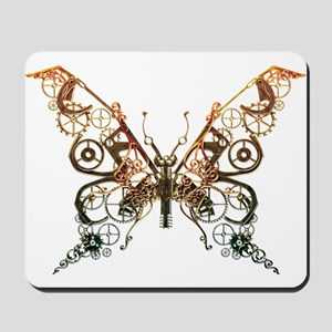 Industrial Butterfly (Copper) Mousepad