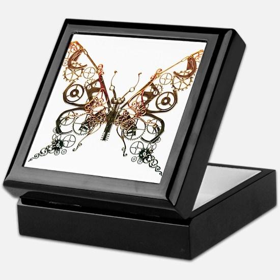 Industrial Butterfly (Copper) Keepsake Box