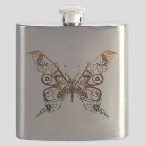 Industrial Butterfly (Copper) Flask