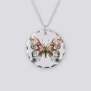 Industrial Butterfly (Copper) Necklace