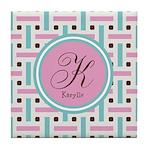 Personalized Monogram Tile Coaster