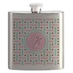 Personalized Monogram Flask