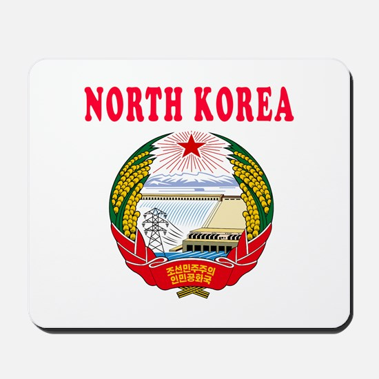 North Korea Coat Of Arms Designs Mousepad
