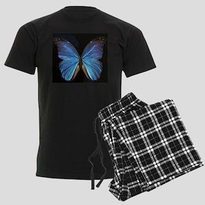 Elegant Blue Butterfly Pajamas