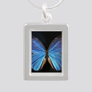Elegant Blue Butterfly Necklaces