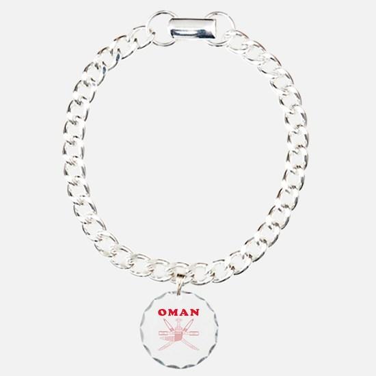 Oman Coat Of Arms Designs Bracelet