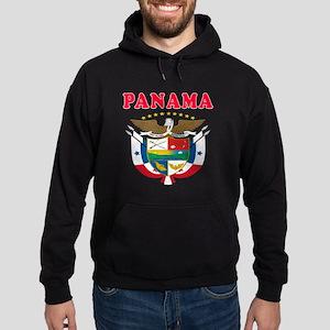Panama Coat Of Arms Designs Hoodie (dark)