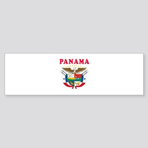Panama Coat Of Arms Designs Sticker (Bumper)