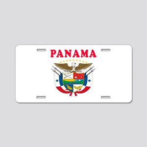 Panama Coat Of Arms Designs Aluminum License Plate