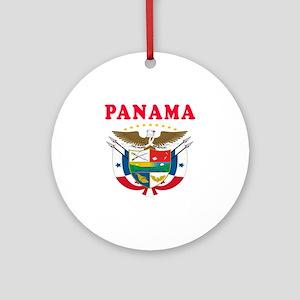 Panama Coat Of Arms Designs Ornament (Round)