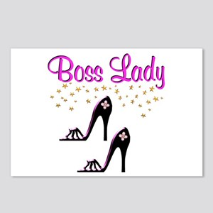 #1 BOSS LADY Postcards (Package of 8)