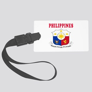 Philippines Coat Of Arms Designs Large Luggage Tag
